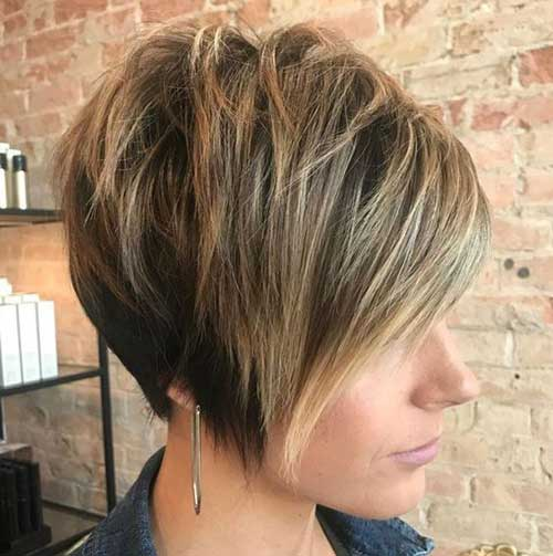 Thick Layered Pixie Crop Haircut-13
