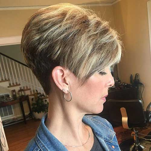 Pixie Crop Haircut Over 50-14