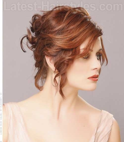 Short Hair Bridal Styles-16