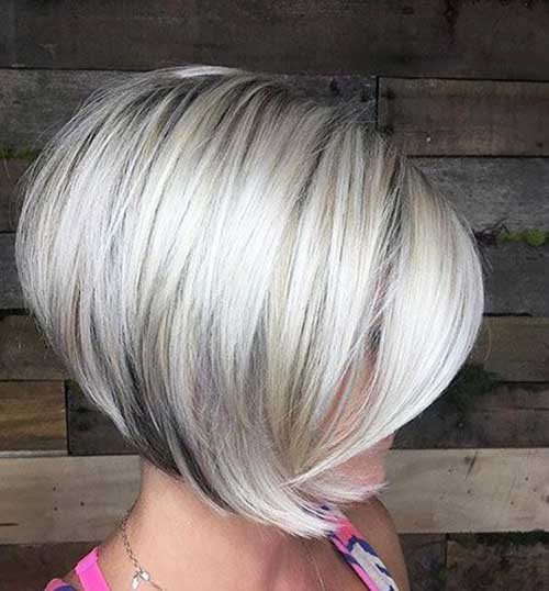 Straight Blonde Textured Choppy Bob-16