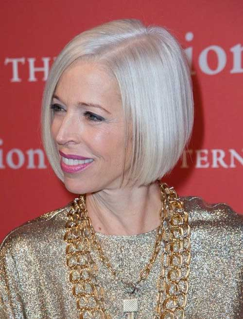 Straight Bob Haircuts for Over 50-19