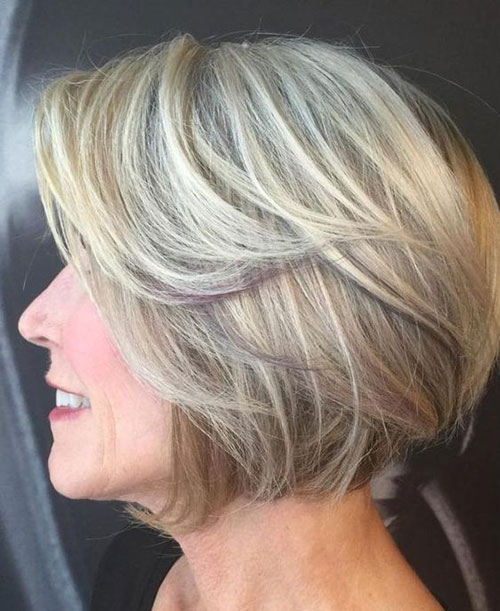 Fine Layers Bob Haircuts for Over 50-20