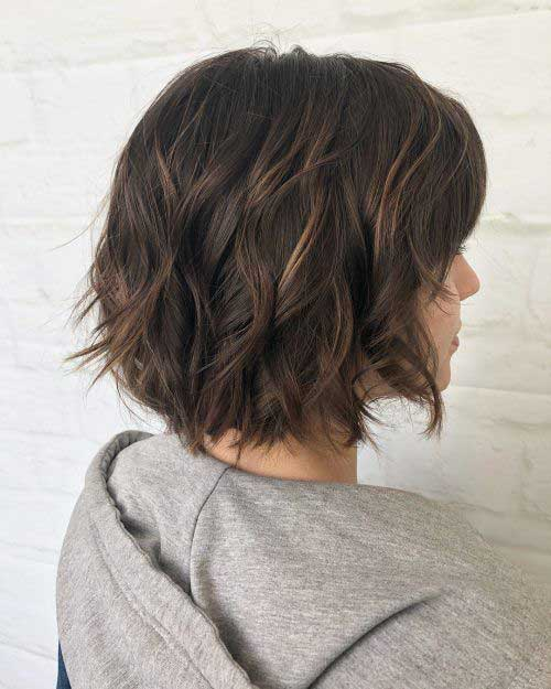 Textured Choppy Bob Highlights-20
