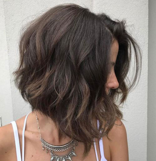 Inverted Lob Thick Wavy Hair-21