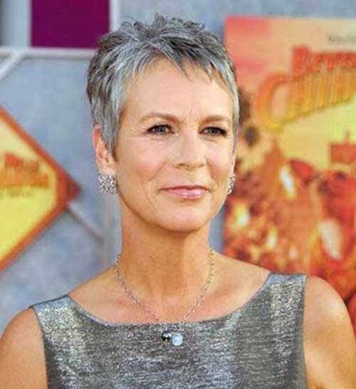 Very Short Pixie Cuts for Older Women-21