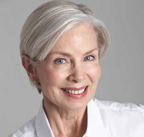 Fine Straight Pixie Cuts for Older Women-24