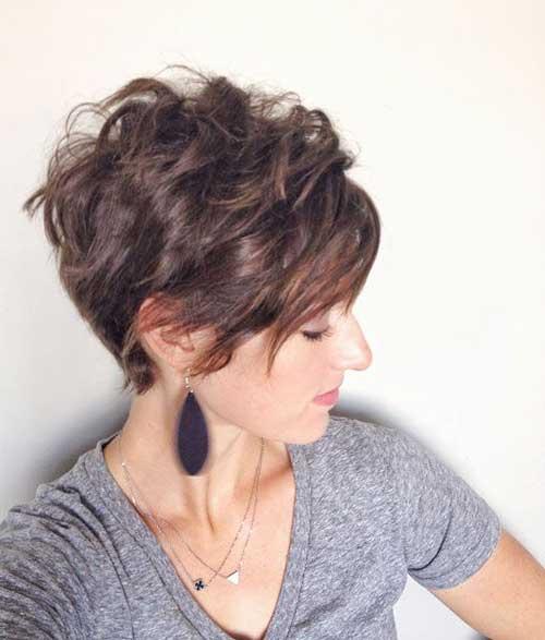 Short Thick Wavy Layered Hair-25
