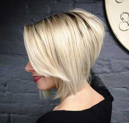 Blonde Textured Choppy Bob-6
