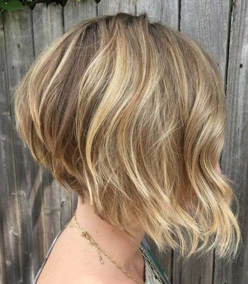 Inverted Bob Soft Waves Hairstyles-7