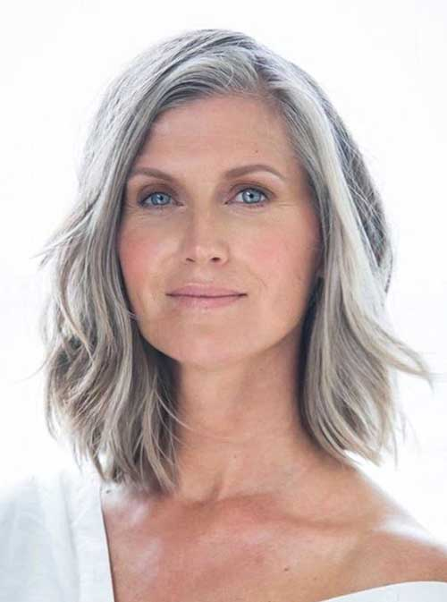 Lob Haircuts for Over 50-7