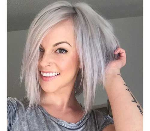 Inverted Bob Choppy Ends Hairstyles-8