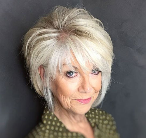 Shaggy Bob Haircuts for Over 50-8