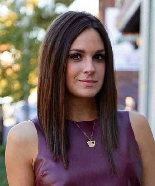 Medium Short Haircuts for Women-9