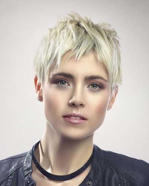 Short Choppy Pixie Haircuts for Fine Thin Hair