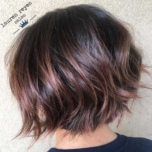 Choppy Textured Bob