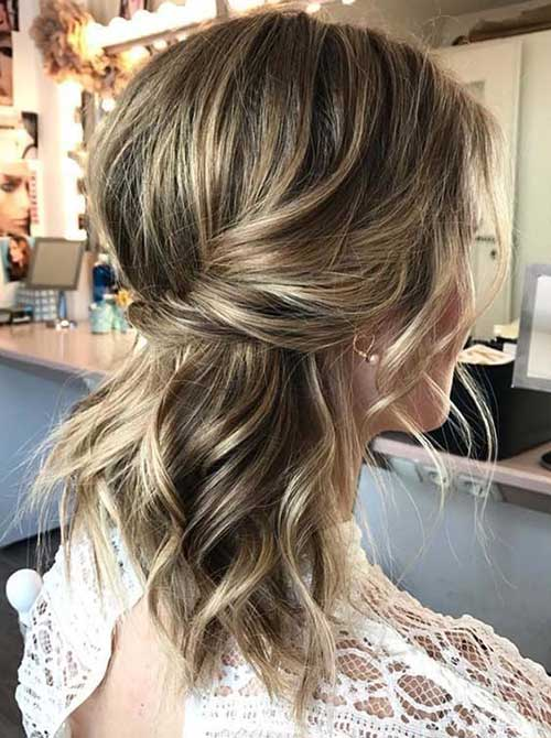Cute Up Hairstyles for Short Hair