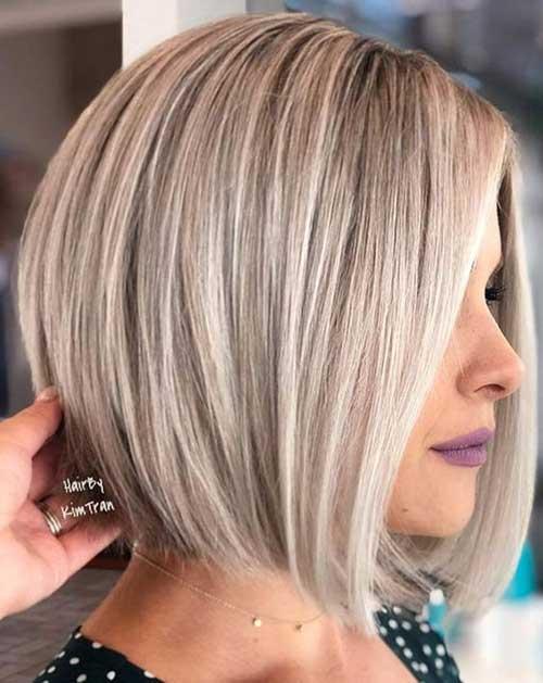 Modern Bob Haircuts for Fine Thin Hair