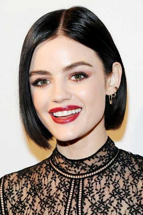 Short Haircuts for Fine Thin Black Hair