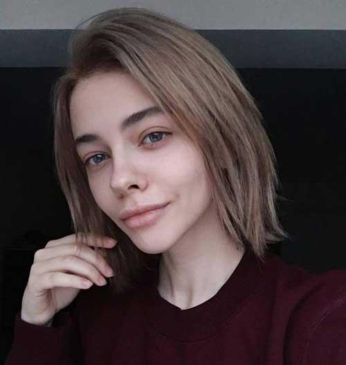 Short Haircuts for Fine Thin Brown Hair