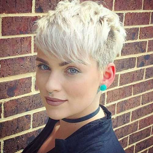Short Haircuts for Fine Thin Pixie Cropped Hair