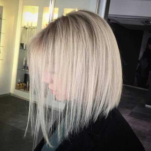 Short Haircuts for Fine Thin Straight Blonde Hair
