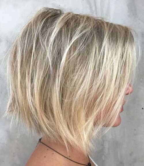 Textured Choppy Bob