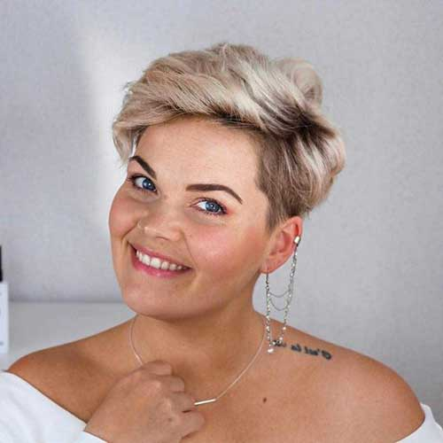 Short Haircuts for Blonde Hair -10