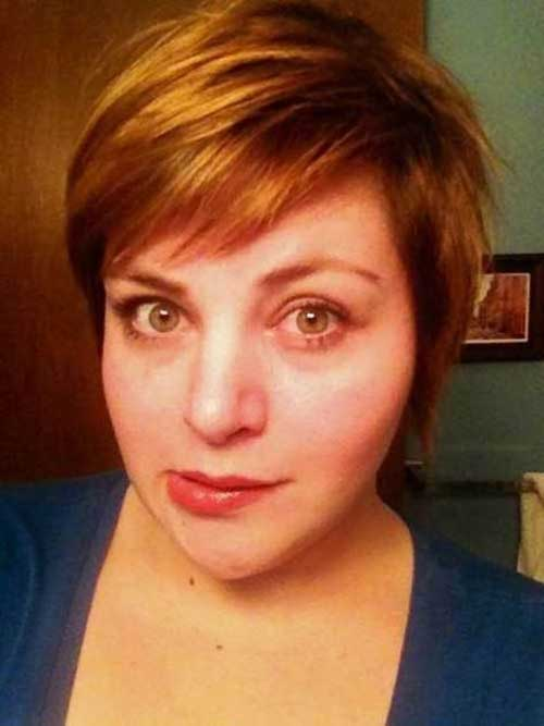 Short Haircuts for Plus Size Women-10