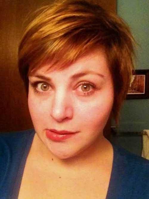 Short Haircuts for Plus Size Women-10
