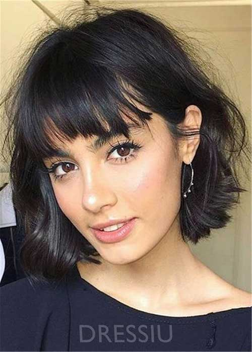 Short Hair with Bangs-11