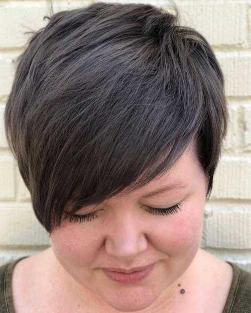 Short Haircuts for Plus Size Women-12