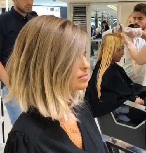 Short Haircuts for Blonde Hair -14