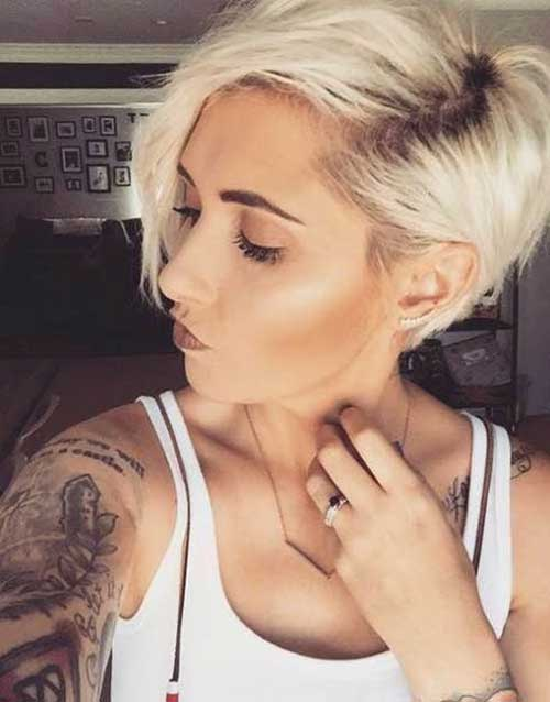Short Haircuts for Blonde Hair -15