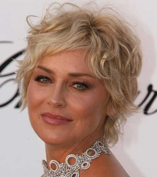 Short Hairstyles for Fine Curly Hair-15