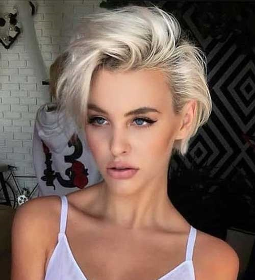 Short Haircuts for Blonde Hair -17