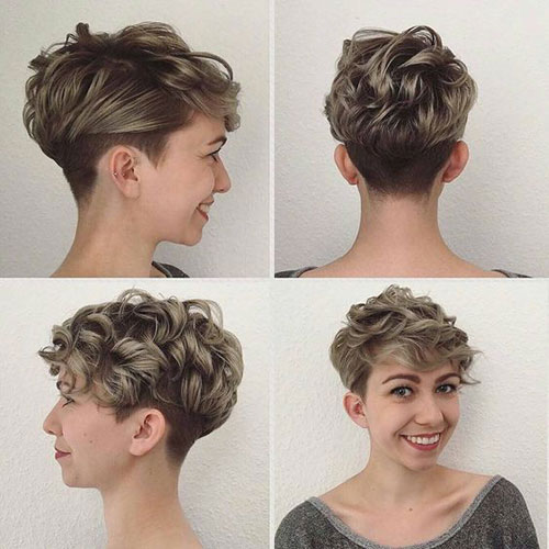 Short Hairstyles for Fine Curly Hair-19
