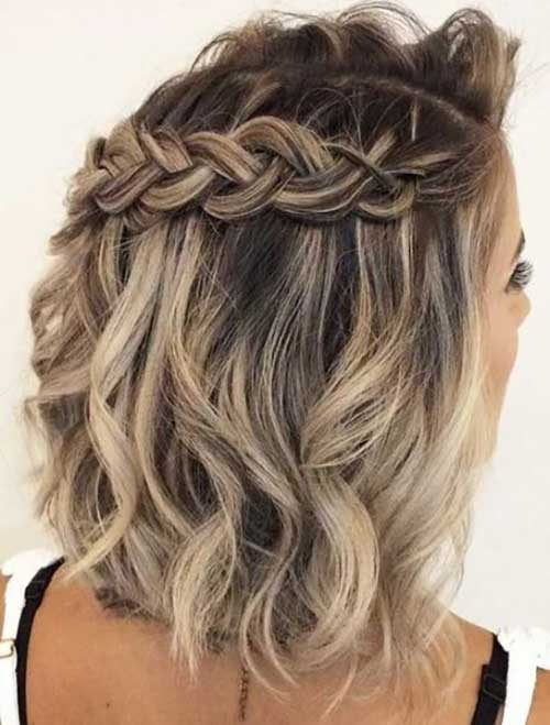 Prom Hairstyles for Short Hair-19