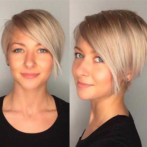 Short Pixie Hairstyles for Thin Hair-20