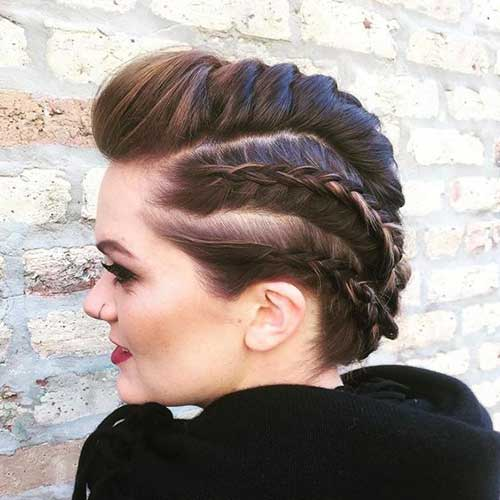 Prom Hairstyles for Short Hair-20