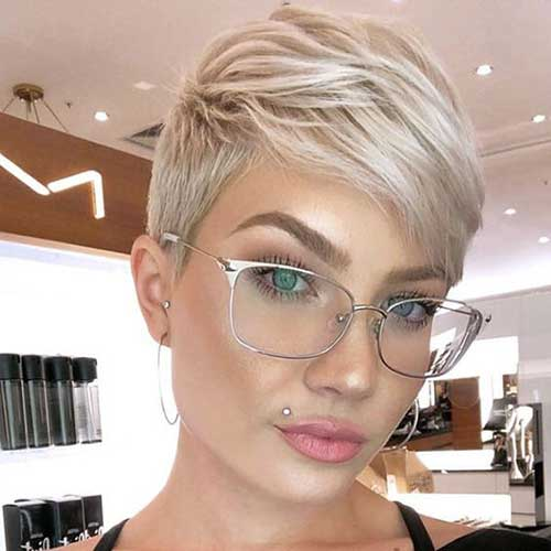 Short Haircuts for Blonde Hair -21