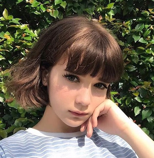 Short Hair with Bangs-21