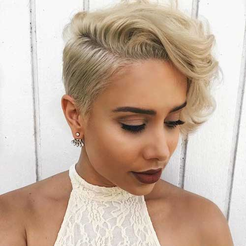 Short Haircuts for Blonde Hair -23