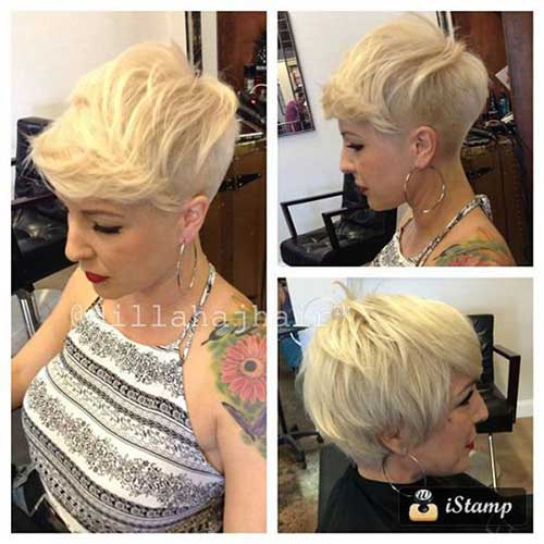 Short Haircuts for Blonde Hair -24