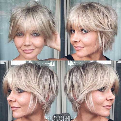 Short Haircuts for Blonde Hair -25