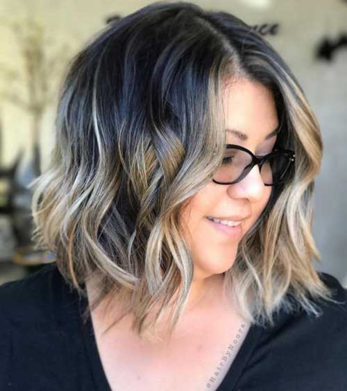 Short Haircuts for Plus Size Women-30