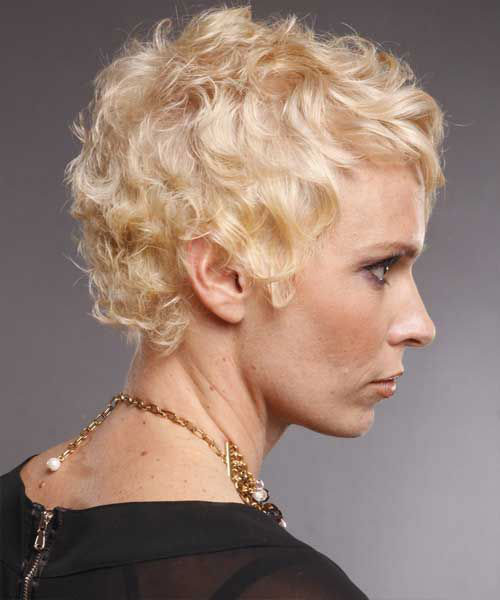 Short Hairstyles for Fine Curly Hair-6