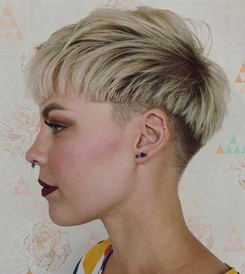 Short Haircuts for Blonde Hair -8