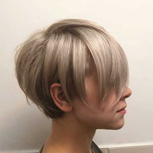 Short Pixie Hairstyles for Thin Hair-9