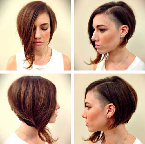 Asymmetrical Hair Cuts