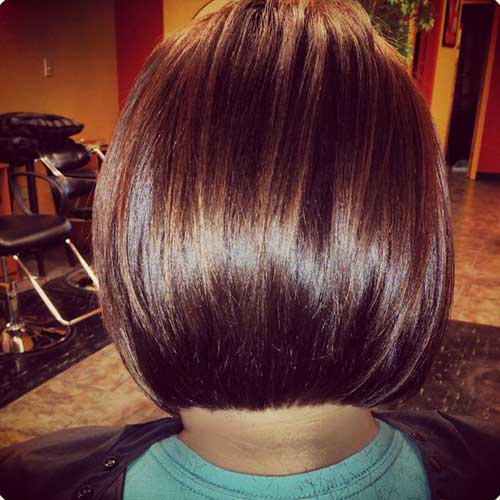 Casual Short Stacked Bob Hairstyles